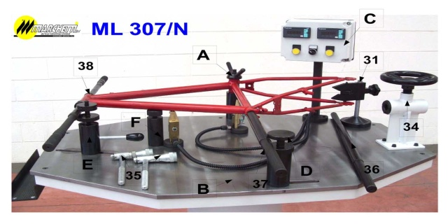 ml 307n marchetti manual frame alignment table for price quotes on table complete with all