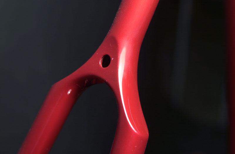 Frame no. 57570307 Strawberry designed wishbone