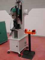 Marchetti's Combined Tube Mitreing Machine ML 102/M.  Clamping fixtures nos. ML 314 Seatstay mitre, ML 315 Chainstay mitre, ML 317 Main Tube mitre and ML 320 Water Bottle Boss Drilling are interchangeable modules for the ML 102 making this machine a versatile compact unit.  For quotations contact Monica Marchetti www.marchettispa.it.  To view this machine in the Strawberry workshop in Portland, Oregon, contact Andy on 503-224-1215