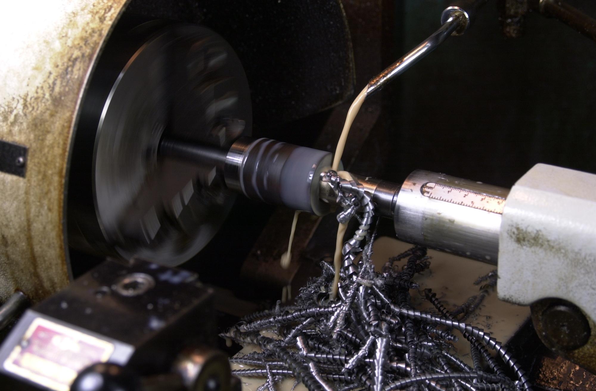 38.1mm brazed carbide mitre cutter body drilling.