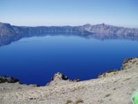 2007 Cycle Oregon.  Crater Lake Rim Drive.