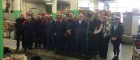 2015 Reynolds Technology Christmas photo taken at the Reynolds factory in Birmingham, England.