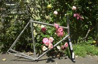 David's frameset completed.  Reynolds 631 brass brazed frame with a carbon Enve fork.