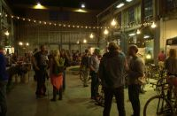 Main hall of The North Warehouse during the 2016 Handmade Bike and Beer Festival.