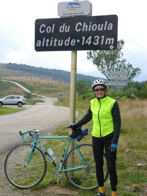 Pyrenees 2008.  Hi Pam.  Bring your bike in for a new model.  That old iron was designed to rust out years ago. Your friend, Andy.