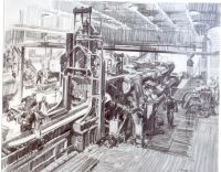SKETCH-FACTORY OPERATION-1944