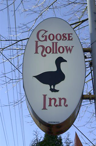 Goose Hollow Pub Sign