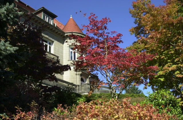 Pittock Mansion Walk, Autumn 2006.