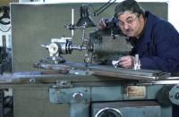 Gary McKenzie at work.  Please visit Gary's new website www.mckenzietool.com