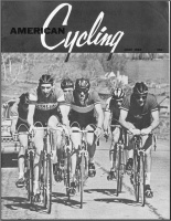 American Cycling Cover June-1966.  Nick Zeller is in the center of the photo and riding as strong as ever.