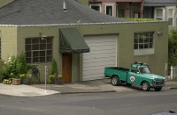 Strawberry World Headquarters, Portland, Oregon, circa summer of 2006.
