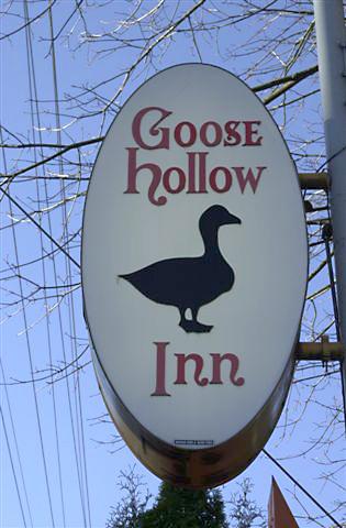 Goose Hollow Pub Sign