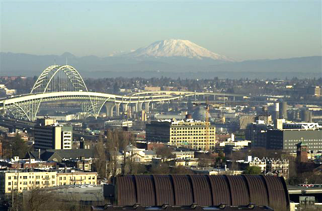 Portland City View