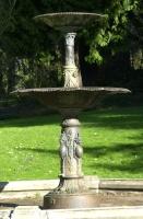 Winter Walk 2006.  Fountain at Washington Park Circle.